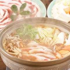 【冬グルメ◆ぼたん鍋】丹波篠山産の猪肉!味噌だれでじっくりコトコト♪