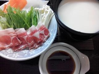 宮城県産もち豚の豆乳しゃぶしゃぶプラン ヘルシーなので女性・ご年配の方にも人気のプランです