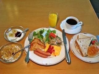 【朝食付き】ホテルの朝食で一日をスタートして白馬を満喫!
