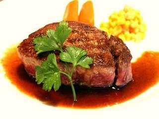 【現金特価】 ほっぺが落ちる♪『牛フィレステーキ洋食コース』