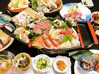日本海に浮かぶ豊漁舟 お造りの船盛&和牛陶板和牛ステーキ☆スタッフ一押しプラン♪