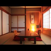 窓から御岳山の自然を感じる◆本館:和室◆