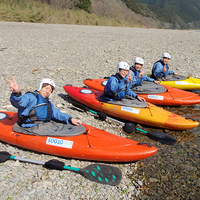 ≪☆冬期限定☆泊まった翌日の午前中カヌー≫優しい流れ♪4kmショートツーリング