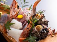 【早期予約で特典付】焼きたてアワビ陶板焼きと舟盛の豪華饗宴♪贅沢海鮮三昧の夏会席