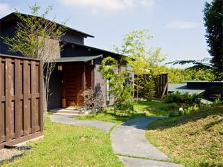 【離れ客室】露天風呂付客室(客間45平米+露天風呂+テラス)