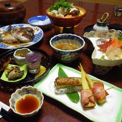 2食付/自家製魚沼産コシヒカリと愛情たっぷり郷土料理