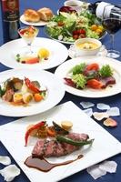 フレンチコースご夕食プラン♪(1泊2食付)【ご夕食グレードアップ】