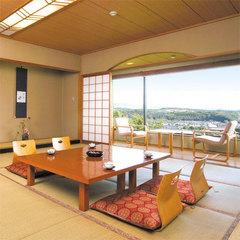 ■東館・和室高層階12.5畳【100%源泉掛け流し&天然水】