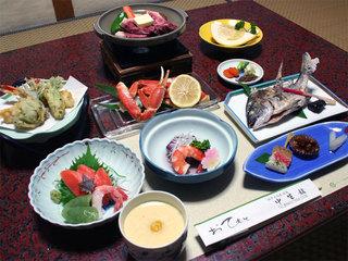 「2食付き事前決済」冬季限定日本酒付きプラン
