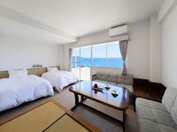 ツイン&タタミ(40平米/海側/従来からある標準客室)