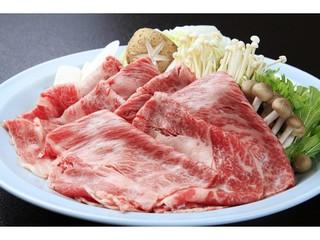 【お料理プラン】箱根の山の肉「地産相州牛豆乳しゃぶしゃぶ」を愉しむ