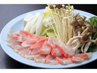 【お料理プラン】駿河湾沖「金目鯛のしゃぶしゃぶ」を愉しむ
