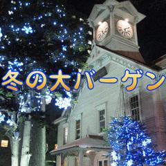 【ネット限定☆】冬のウレシイ大バーゲン!お得にビジネス&札幌観光♪