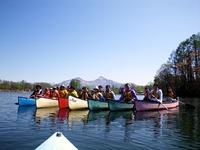 曽原湖でカナディアンカヌーファミリー体験宿泊プラン