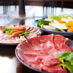 【4〜9月限定】春に家族旅行をお考えの方へ〜豊後牛と地鶏をテラスで堪能!BBQプラン