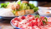 【春夏旅セール】当宿一番人気★柔らかくとろける旨さ♪おおいた豊後牛のすき焼き(2食付)