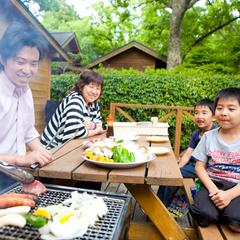 【4〜9月限定】【ゆふいん・塚原高原をBBQで満喫♪】大自然の中、テラスで味わう和牛BBQプラン!