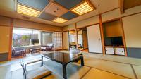 【高層階・与平次亭】和室(12+6畳)湯畑側