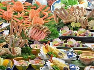 【さき楽30】【かにフルコース】蟹2.5杯!果たして食べきれるか?!蟹フルコース美味満載プラン
