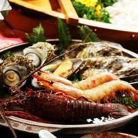【デラックス】志摩の宴◆伊勢海老2尾×アワビ×平目活造り×うに飯◆〜特典付〜
