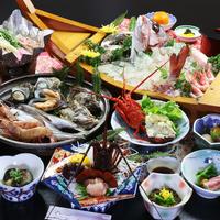 【スタンダード】極上の宴◆伊勢海老×アワビ×鯛活造り×うに飯◆〜特典付〜