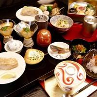 【夕朝食付】京都の食材を随所に使用した料理長推奨会席コース【京懐石 竹】