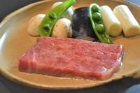ふく料理公許第一号店のふくと国産和牛の饗宴コース