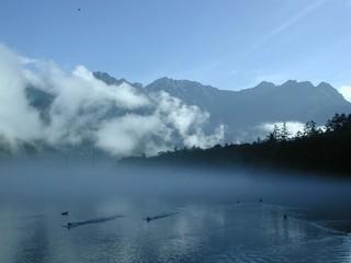 夏の上高地! 朝もやの大正池プラン