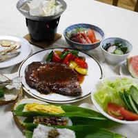 お先でスノ。<新潟県産和牛のステーキ付>高原でおもいっきり遊んだ後は・・お腹いっぱいお肉が食べたい!
