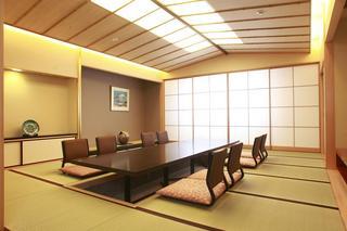 特別和室禁煙室(10畳+16畳+檜風呂)朝食付プラン
