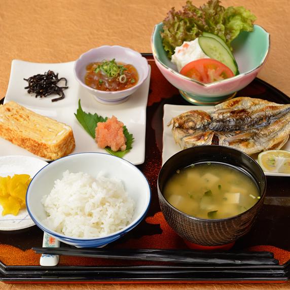 【朝食付きプラン】和朝食を食べて一日を元気にスタート!
