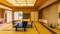 【禁煙室】3Fテラス付コーナールーム12.5帖+広縁 部屋食