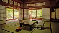 【源泉かけ流し内風呂付き特別室】良質な温泉と山口の食材を活かした会席料理を楽しむ贅沢ステイ