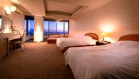 【和洋室-47平米-】絶景の夕焼けや夜景を眺めて
