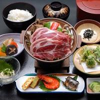 【お日にち限定お試しプラン】 お得な米の娘ぶたの陶板焼きコース☆