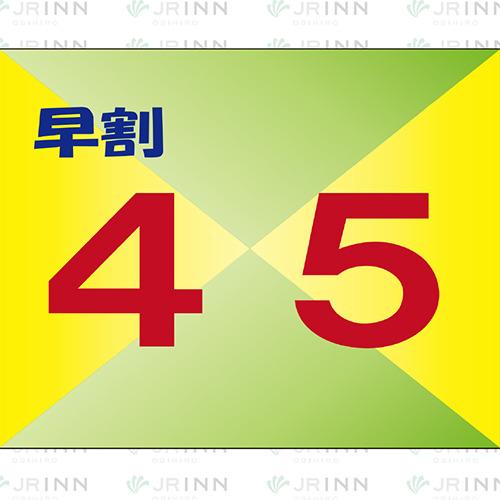 ★さき楽45★早めの予約がお得!【RC】