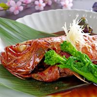 【金目鯛の煮付け】自慢のタレでいただく伊豆の味覚☆