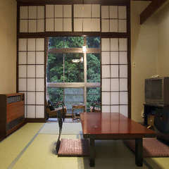 【源泉かけ流しの宿】◇スタンダード和室◇昭和の雰囲気と会席料理を愉しむ