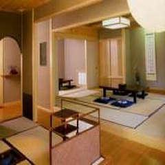 二間続き+茶室4.5畳の特別室【和室10畳+6畳】