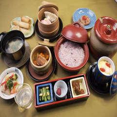 【一泊朝食】身体に優しい『かゆの漢方膳』と『源泉かけ流しの天然温泉』で心と身体を癒すひとときを・・・