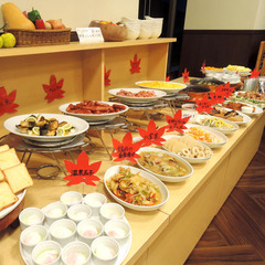 【クチコミ高評価】〈朝食付〉当館自慢の地採れの有機野菜や郷土食材たっぷりバイキング♪