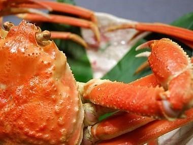 【かに旅】冬たびspaグルメ♪ズワイガニ丸ごと(500g相当)&高級魚のどぐろ煮付け×貸切風呂付き♪
