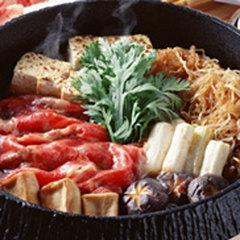 自家製野菜使用!【コスパ◎定番鍋コース☆彡】4種類の鍋からお好みチョイスしてね♪現金特価