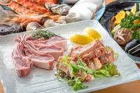 2食付き テラスで焼く知床炉端焼きプラン★オホーツク海を眺めながら新鮮魚介を堪能♪