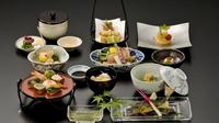 《川床》◇カップル限定◇平日京都の贅沢、貸切風呂とワインをご用意