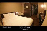 ◇禁煙ダブル15平米◇2階に男女別天然温泉大浴場サウナ完備!