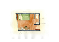 洋室シングルトイレ付き 冬のお得な割引プラン お得な割引価格を設定致しました。