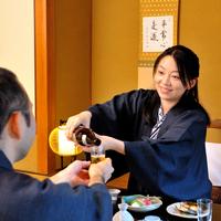 ◆カップル旅プラン−和−◆ ≪名物「かま風呂」の貸切特典付き≫彼とわたしだけの「京の隠れ家」空間