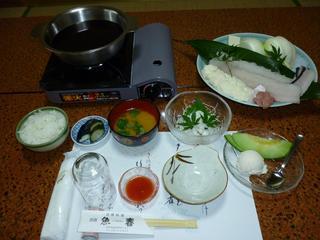 【夏季限定】 鱧スキと一品料理