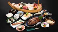 【静岡グルメ】美食堪能♪鯛しゃぶ・鮑・伊勢海老のフルコース/現金特価